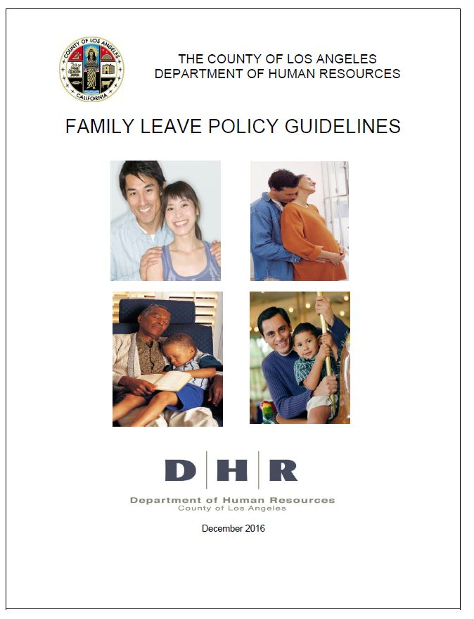 Family Leave Guidelines
